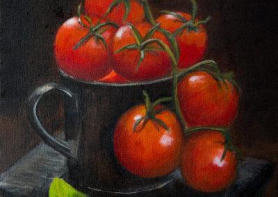 Tomater i kop